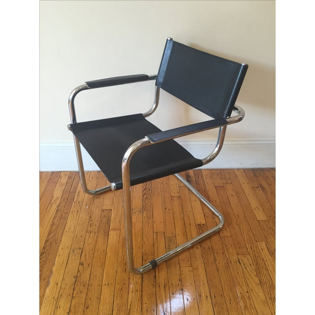 Vintage Cantilever Dining Chairs - 3 - Image 3 of 4