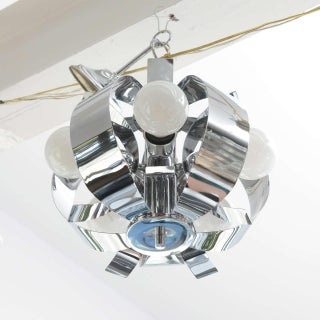 Small Chrome Chandelier, 1960s Preview