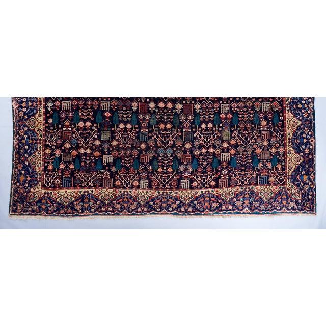 Blue Ground Oversized Bakhtiari Carpet For Sale - Image 4 of 6