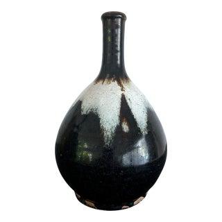 Japanese Ceramic Sake Bottle Chosen Karatsu Ware For Sale