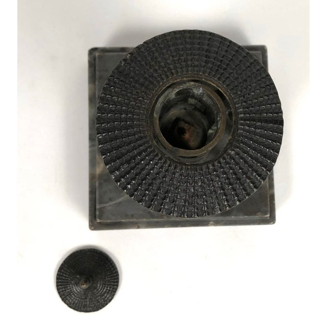 19th Century Neoclassical Grand Tour Bronze Model of the Temple of Vesta, Rome For Sale - Image 4 of 8