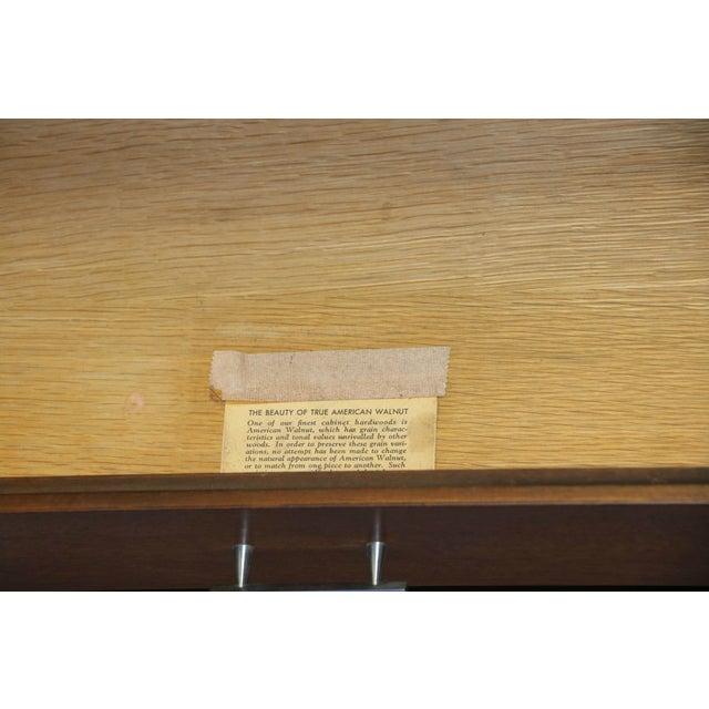 Paul McCobb Mid-Century Walnut Dresser - Image 8 of 10
