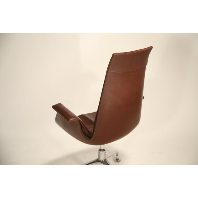 1960s Fk 6725 'Bird' Chair by Preben Fabricius and Jorgen Kastholm for Alfred Kill For Sale - Image 5 of 13
