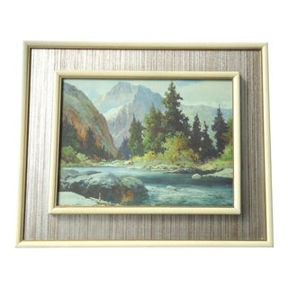 """In the Tetons, Wyoming"" Vintage Print by Robert Wood For Sale"
