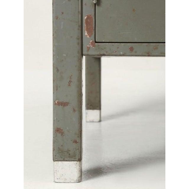 Industrial Steel American Industrial Desk in Original Condition For Sale - Image 3 of 12