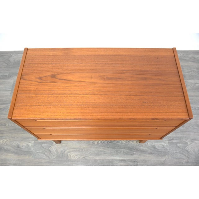 Wood Nils Jonsson Teak Vanity Dresser For Sale - Image 7 of 11