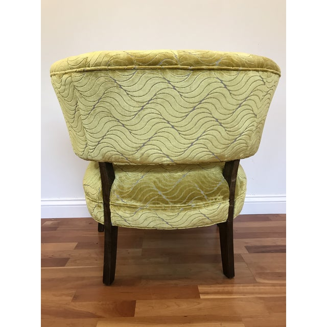 1940s 1940s Vintage Billy Haines Era Channel Back Chair For Sale - Image 5 of 12
