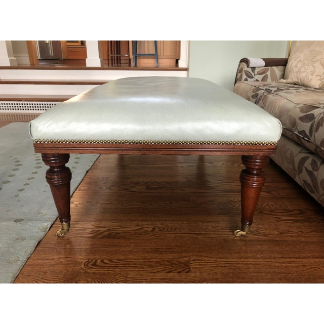 1990s Vintage Ottoman Coffee Table For Sale - Image 4 of 11