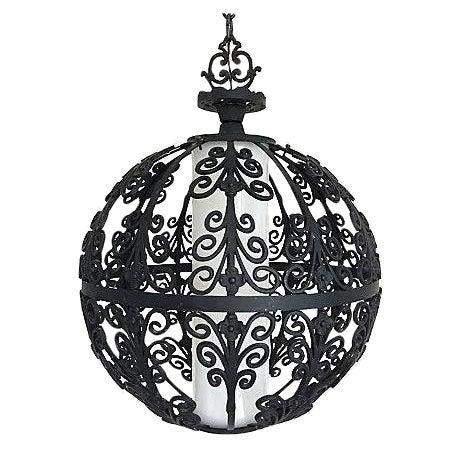 Feldman Mid-Century Globe Pendant Light For Sale