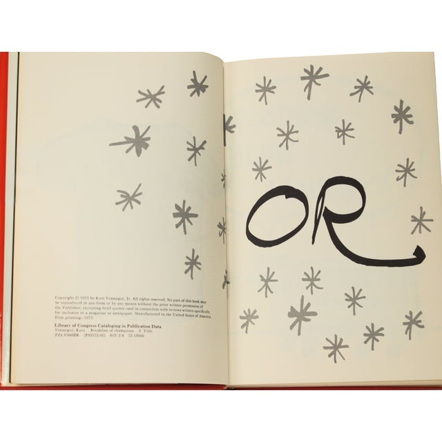 Breakfast of Champions by Vonnegut, 1st Edition - Image 6 of 7