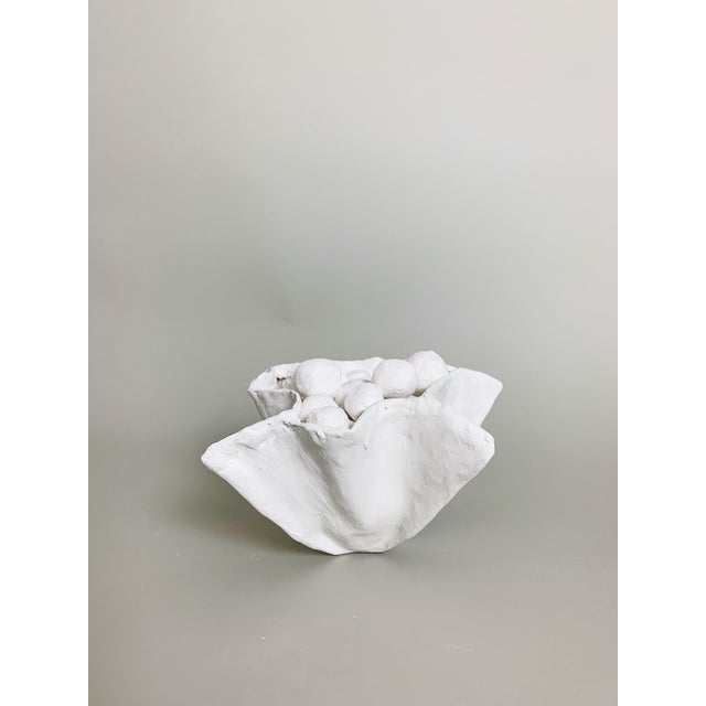 Not Yet Made - Made To Order White Plaster Pinch Bowl For Sale - Image 5 of 6