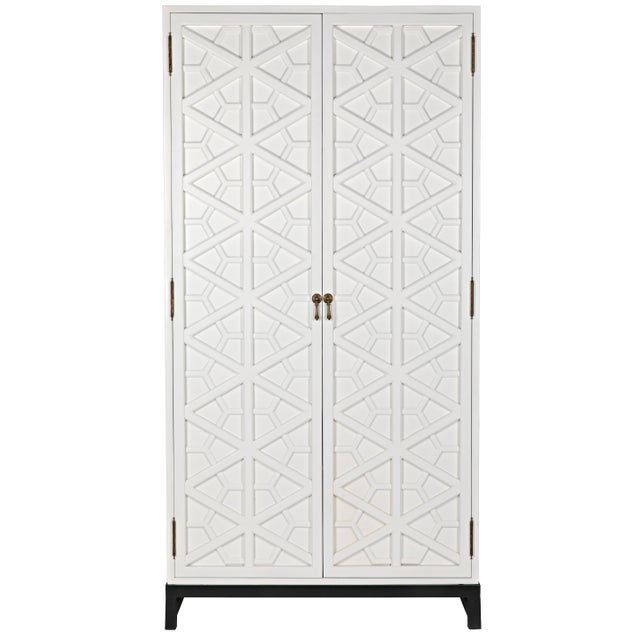 Maharadshcha Hutch, Solid White For Sale - Image 10 of 10