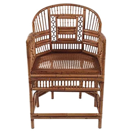 1960's Brighton Bamboo Chair - Image 1 of 7