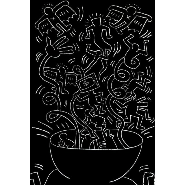 Artist: Keith Haring (1958-1990) Title: Future Primeval Year: 1990 Medium: Offset lithograph on wove paper Size: 37 x 21...