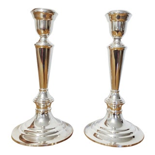 Gorham Silver Candlesticks - a Pair For Sale