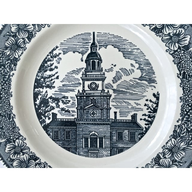 Early 20th Century Royal China Ironstone Plates - Set of 8 For Sale - Image 5 of 7