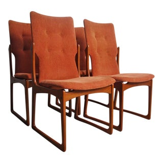 Danish Modern Teak Dining Chairs by Vamdrup Stolefabrik, Set of 4 For Sale