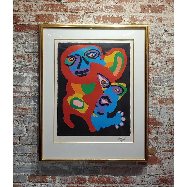 Karel Appel -Chien De Face -Original Artist Proof -Signed For Sale - Image 10 of 10