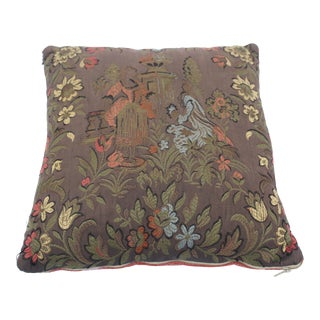 20th Century Renaissance Style Decorative Pillow For Sale