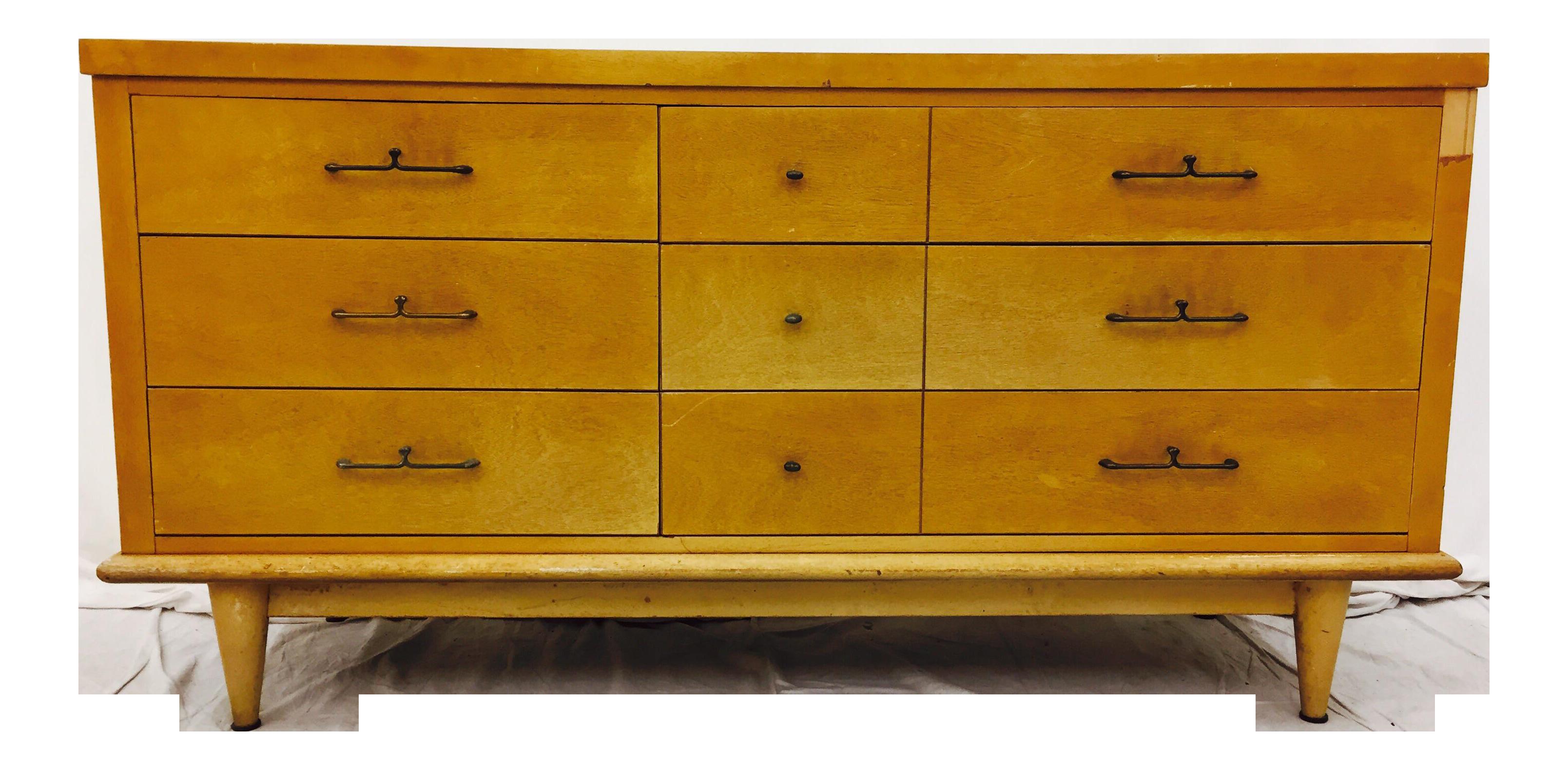 Attrayant Vintage Dixie Furniture Mid Century Dresser