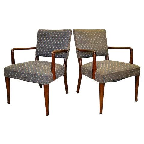 Finn Juhl Danish Armchairs - A Pair For Sale