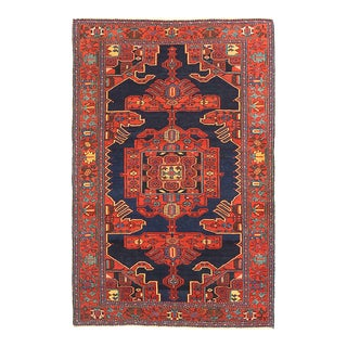 Antique Persian Area Rug Malayer Design For Sale