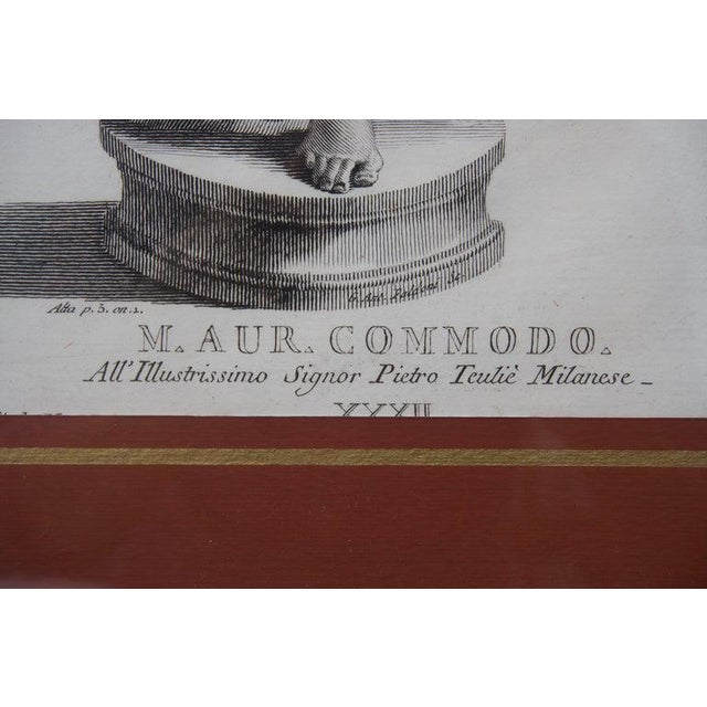 Paper 19th Century Neoclassic Engravings - Set of 4 For Sale - Image 7 of 13