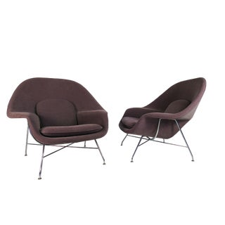 Womb Chairs by Eero Saarinen for Knoll - A Pair For Sale