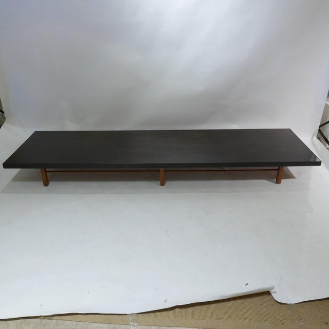 Milo Baughman for Thayer Coggin Low Table or Gallery Bench With Cushions For Sale - Image 10 of 13