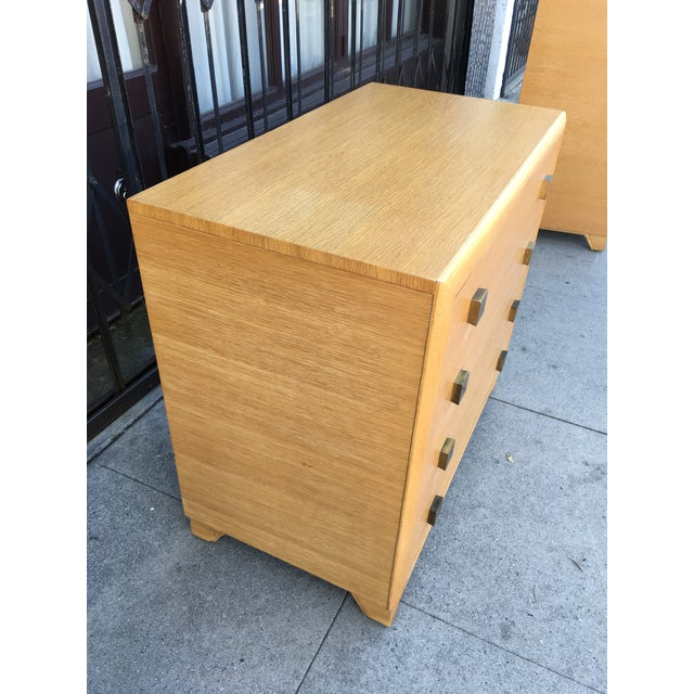 1940s Art Deco Petite Chest of Drawers For Sale - Image 10 of 13
