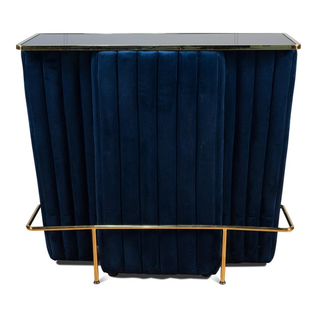 Contemporary Blue Regal Bar For Sale - Image 3 of 7