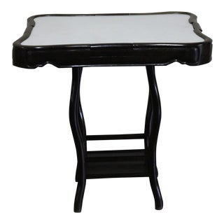 Chinese Iron Wood Mahjong Table For Sale