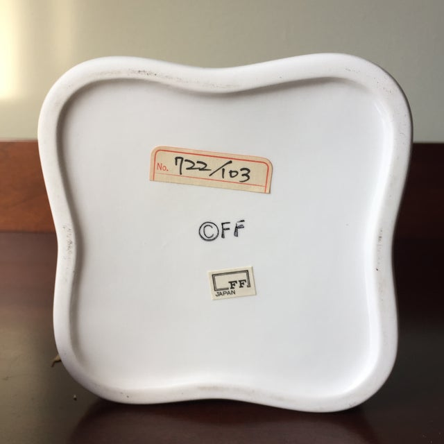 Camel Fitz and Floyd Vintage Ceramic Shell Handle Lid and Box For Sale - Image 8 of 9