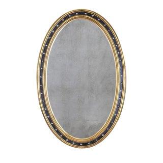 Irish George III Oval Mirror For Sale