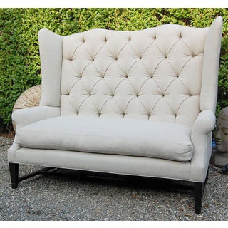 Wing Back Sofa Preview