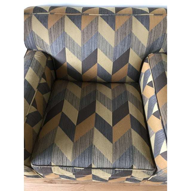 Mitchell Gold + Bob Williams Mitchell Gold + Bob Williams Custom Arm Chair For Sale - Image 4 of 5