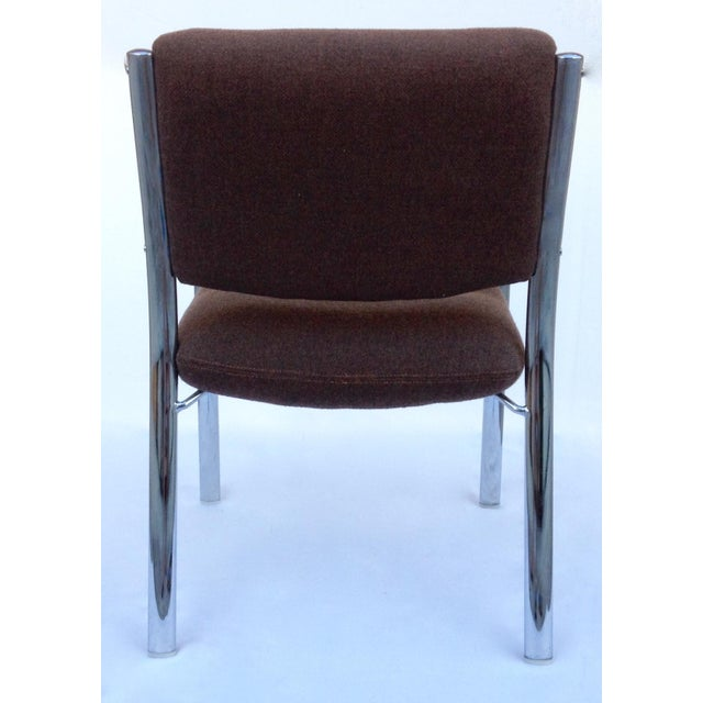 Mid-Century ChromCraft Chrome Arm Chair For Sale In West Palm - Image 6 of 11