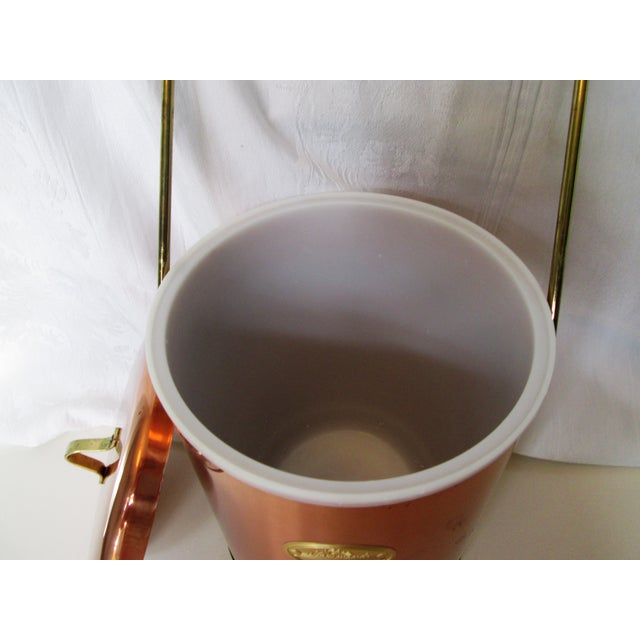 Vintage Coppertone Tall Ice Bucket - Image 5 of 7