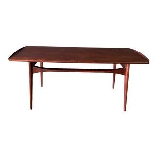 1960s Mid-Century Modern Tove&Edvard Kindt-Larsen Teak Coffee Table For Sale
