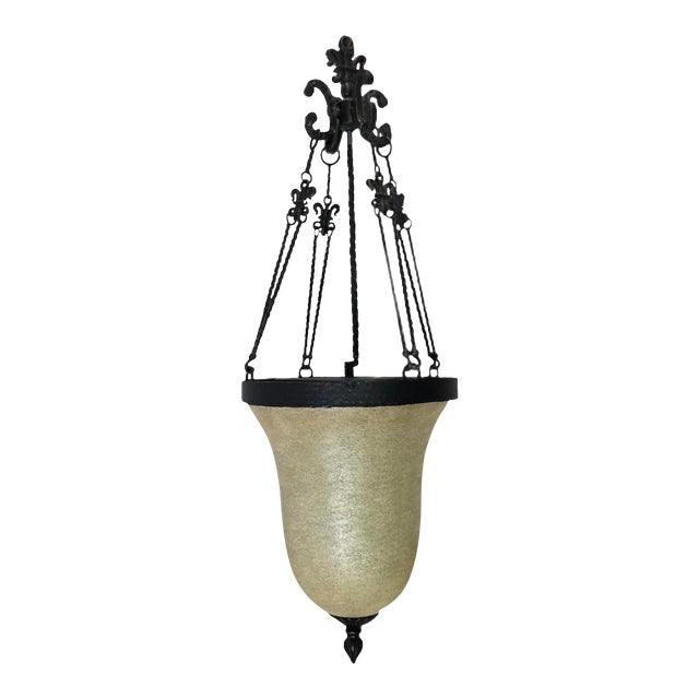 Savoy House Tuscan Iron Provence 3-Light Foyer Pendant For Sale