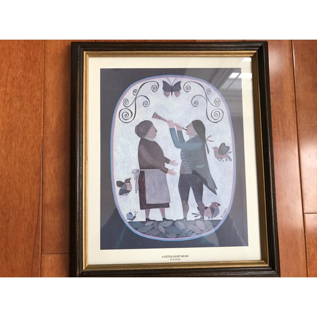 Grouping of 4 Primitive Framed Pictures - Image 4 of 7