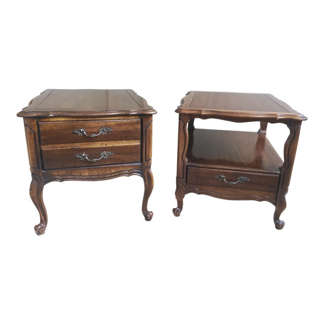 Vintage Hammary End Tables- Set of 2 For Sale
