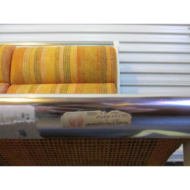 Hannah Morrison for Knoll Sling Sofa For Sale - Image 7 of 7