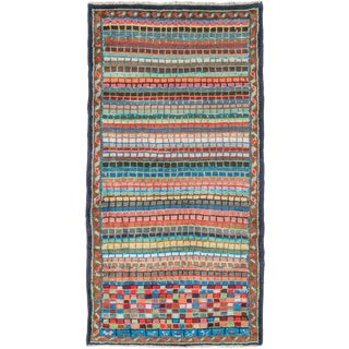 """Vintage Persian Mahal Rug – Size: 2' 4"""" X 4'6"""" For Sale"""