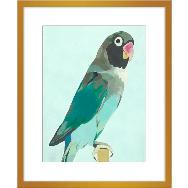 """Contemporary Medium """"Arlo"""" Print by Neicy Frey, 25"""" X 31"""" For Sale - Image 3 of 3"""