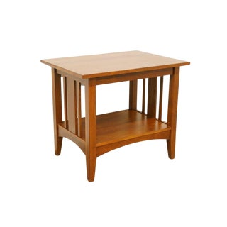 20th Century Mission Ethan Allen American Impressions End Table For Sale