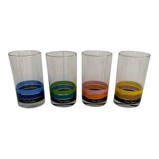 Pierre Cardin Highball Glasses - Set of 4 For Sale