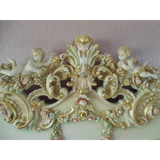 Italian Style Cherub California King Bedframe - Image 4 of 11