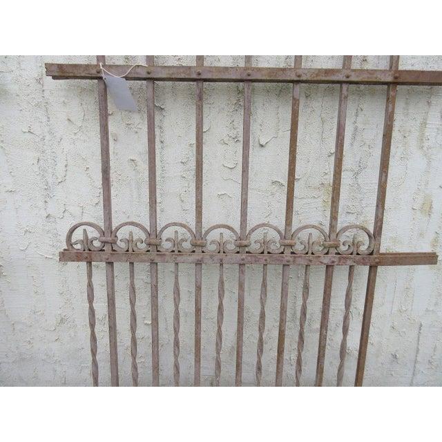 Antique Victorian Garden Fence Salvage - Image 4 of 6