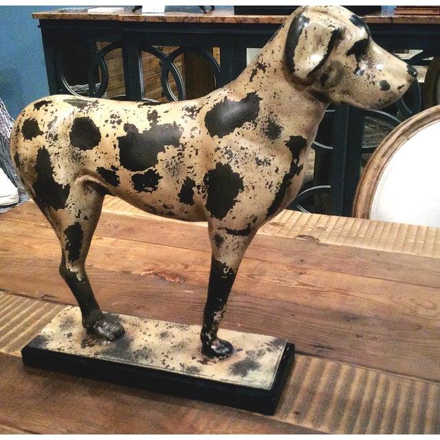 Sarreid Ltd Cast Iron Dog Form Boot Scraper - Image 3 of 3